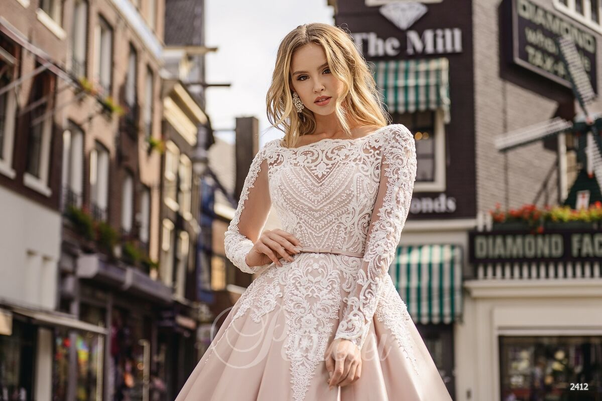 Свадебное платье напрокат Lavender Свадебное платье Kasandra - фото 3