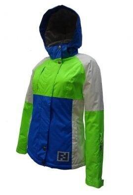 Спортивная одежда Free Flight Женская горнолыжная мембранная куртка, модель №1328 - фото 5