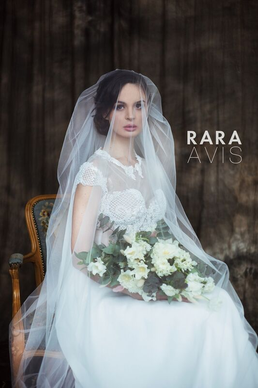 Свадебный аксессуар Rara Avis Фата №14 - фото 5
