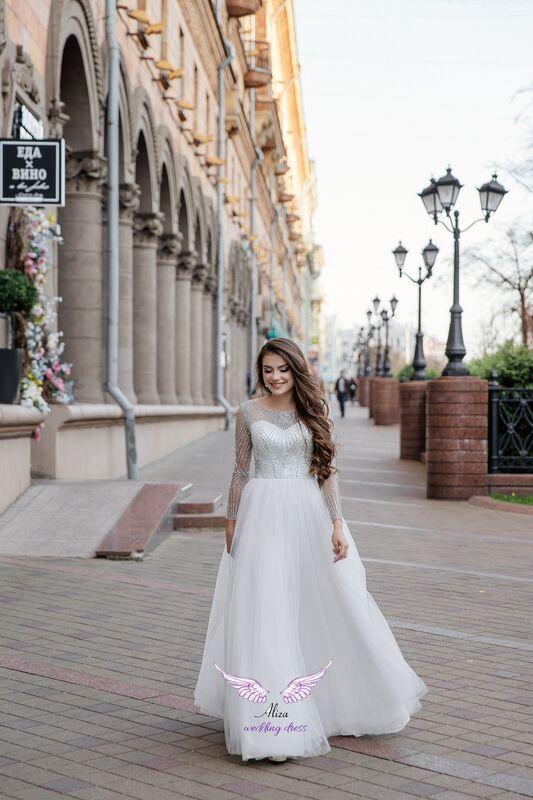 "Свадебный салон ALIZA Вечернее платье прокат  ""Sabina"" - фото 2"