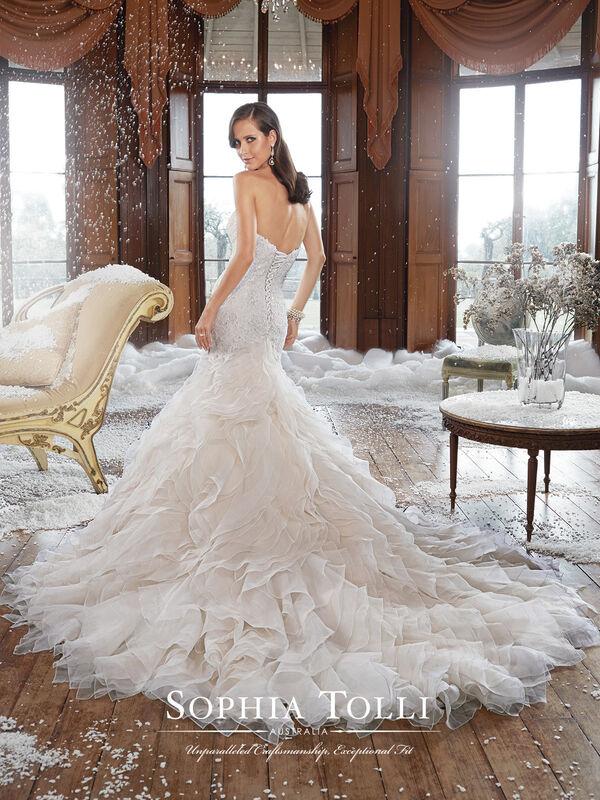 Свадебное платье напрокат Sophia Tolli Платье свадебное Y21511 Cameron - фото 2
