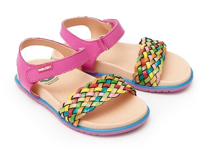 Обувь детская Pablosky Туфли летние для девочки 443783 - фото 1