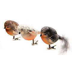 Елка и украшение mb déco Игрушка елочная «Птичка» на клипсе - фото 1