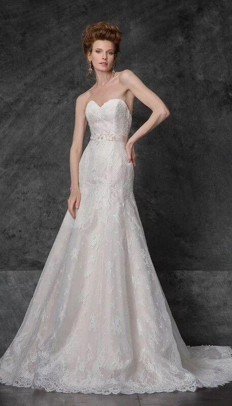 Свадебное платье напрокат Edelweis Платье свадебное «Naomi» - фото 1