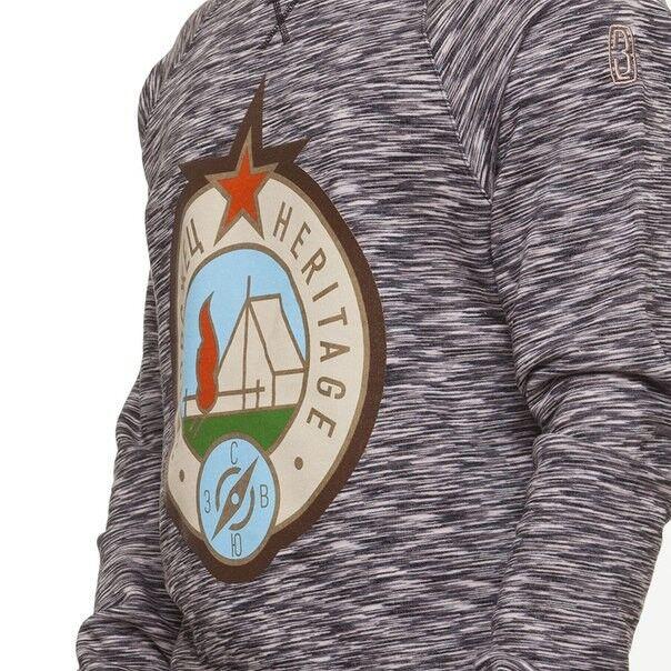 Кофта, рубашка, футболка мужская Запорожец Свитшот «Турист» - фото 3