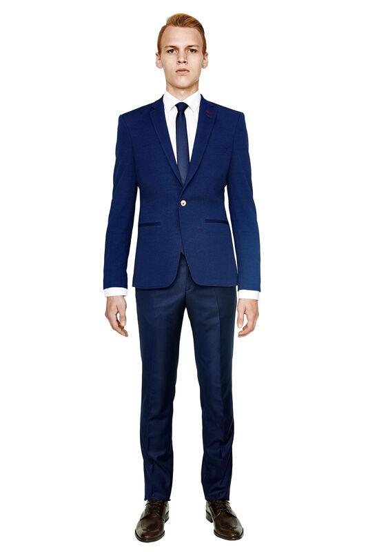 Пиджак, жакет, жилетка мужские HISTORIA Пиджак мужской синий H07 - фото 1
