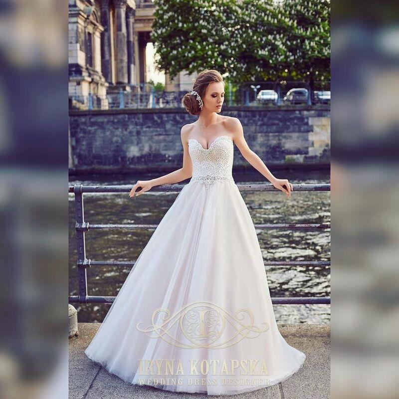 Свадебное платье напрокат Lavender Свадебное платье Princess - фото 1