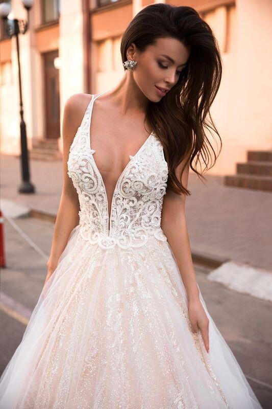 Свадебный салон Ida Torez Свадебное платье Lambis Crocata - фото 2