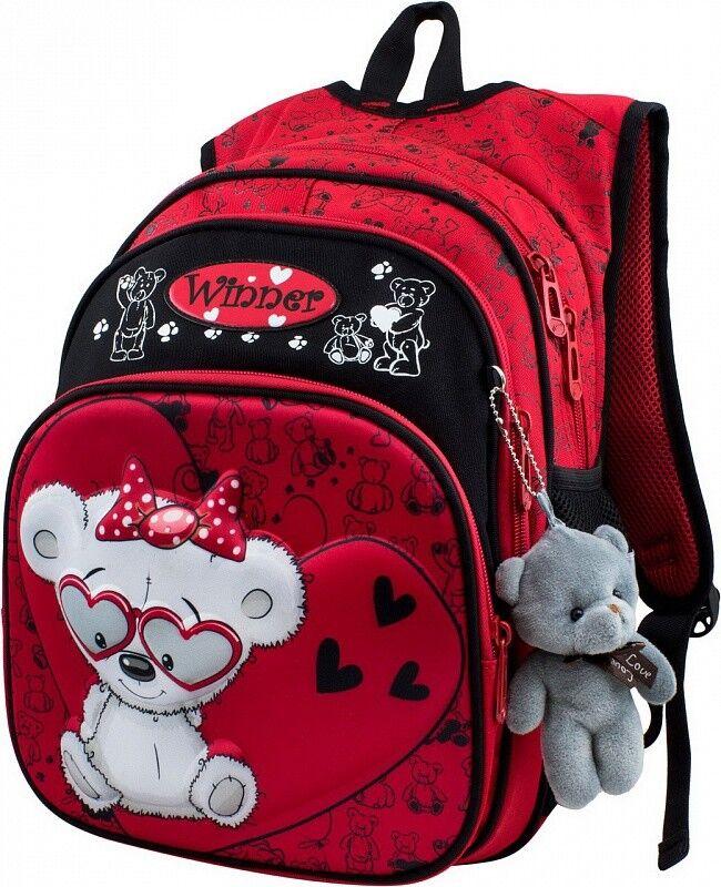 Магазин сумок Winner Рюкзак школьный 883 - фото 1