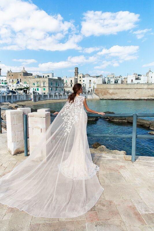 """Свадебное платье напрокат ALIZA свадебное платье """"Raima"""" - фото 3"""