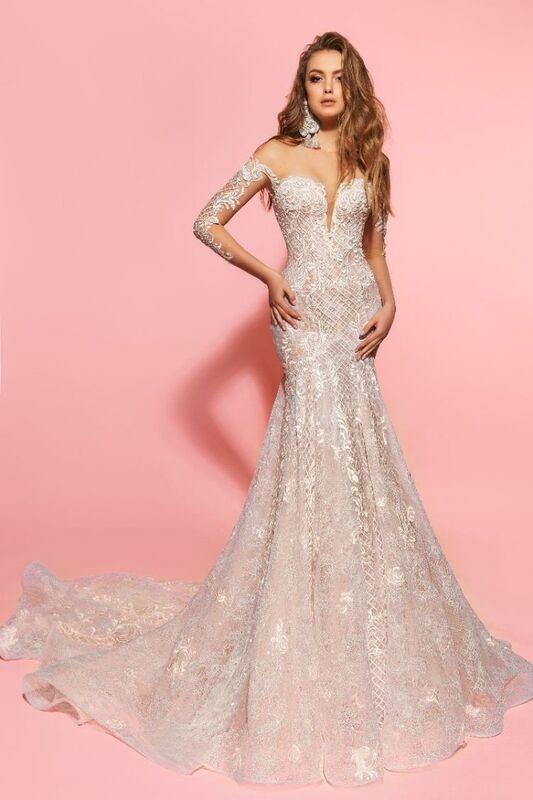 Свадебное платье напрокат Eva Lendel Платье свадебное Kim - фото 1