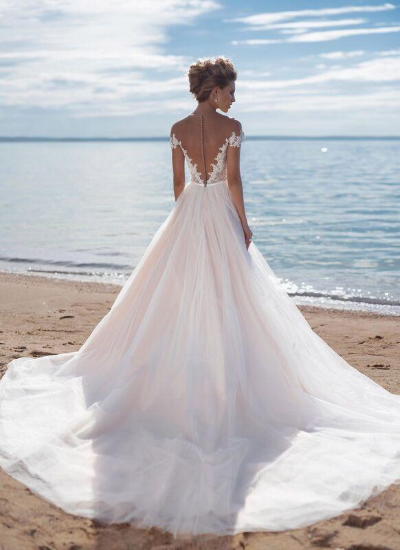 Свадебное платье напрокат Cosmobella Свадебное платье Kon-Tiki - фото 3