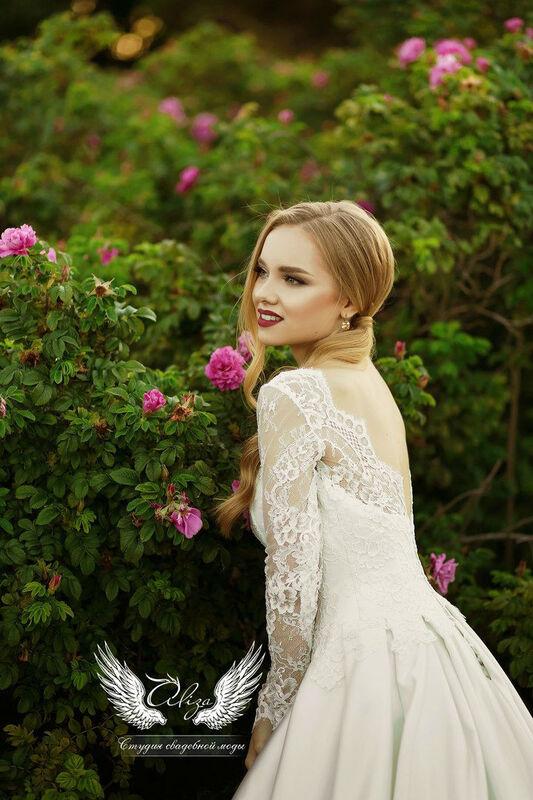 Свадебный салон ALIZA Платье свадебное «Грация» Soffito - фото 7