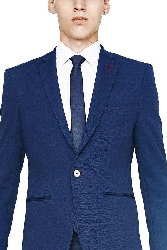 Пиджак, жакет, жилетка мужские HISTORIA Пиджак мужской синий H07 - фото 3