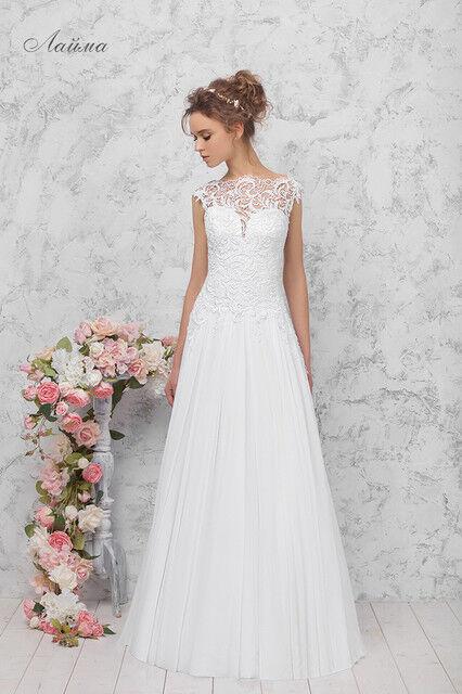 Свадебное платье напрокат Vintage Платье свадебное «Лайма» - фото 1