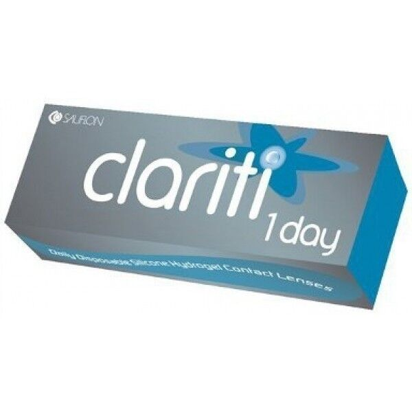 Линзы Sauflon Контактные линзы Clariti 1-day - фото 1