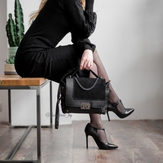 Магазин сумок Vezze Кожаная женская сумка C00454 - фото 1