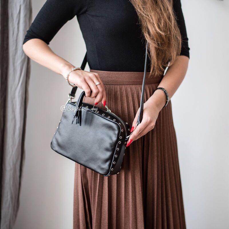 Магазин сумок Vezze Кожаная женская сумка C00440 - фото 1