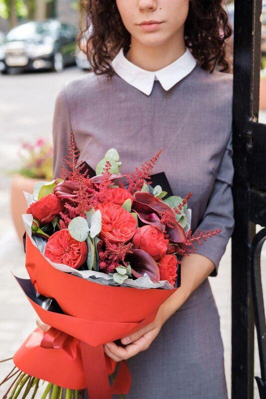 Магазин цветов Цветы на Киселева Букет «Искреннее поздравление» - фото 1