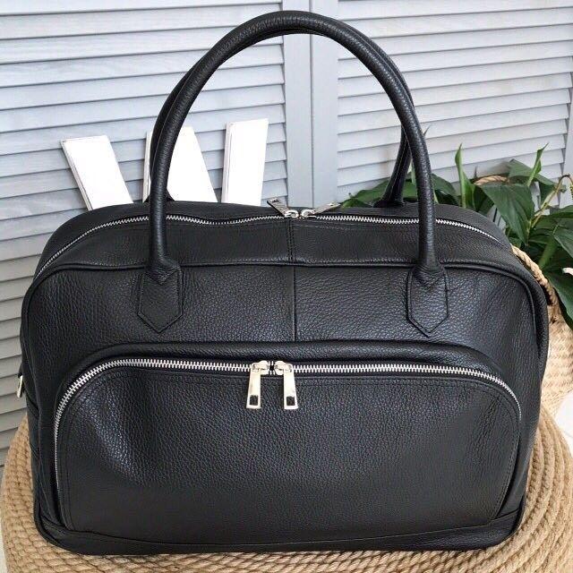 Магазин сумок Vezze Кожаная дорожная сумка С00227 - фото 1