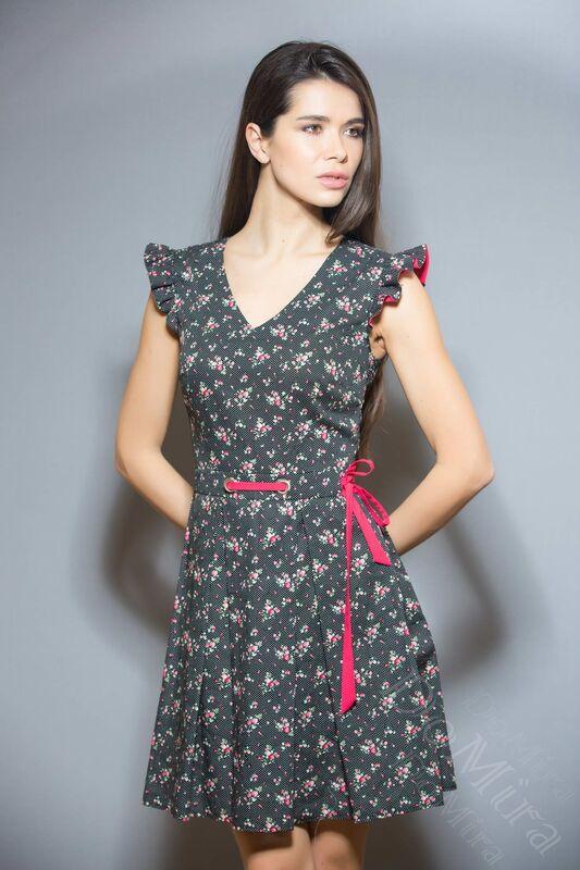 Платье женское DoMira Платье М-01-439С - фото 1