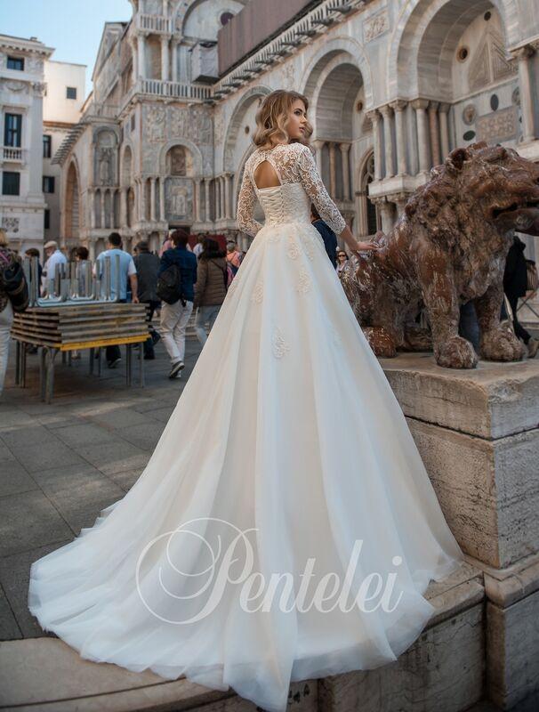 Свадебное платье напрокат Lavender Свадебное платье Feliciya - фото 3