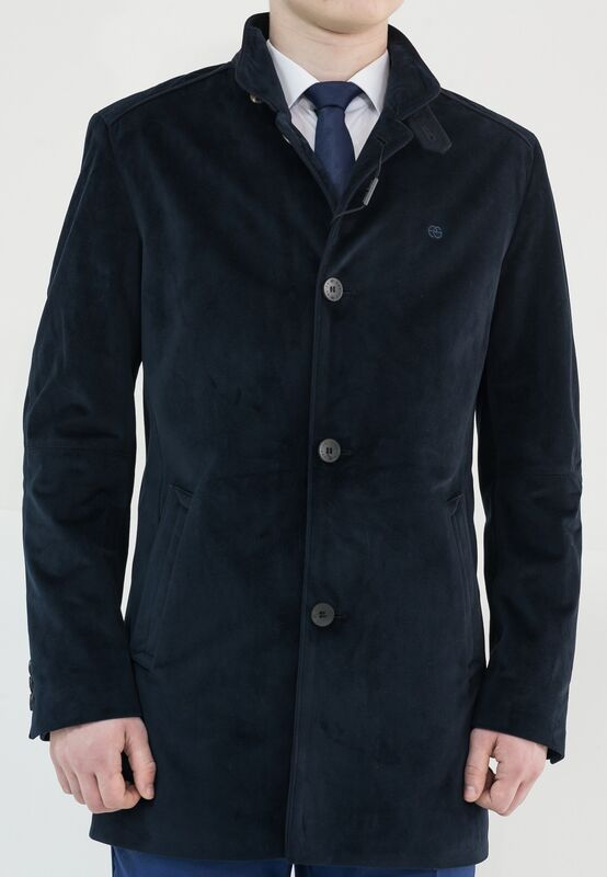 Верхняя одежда мужская AKCENT Куртка мужская хлопковая Темно-синяя - фото 1