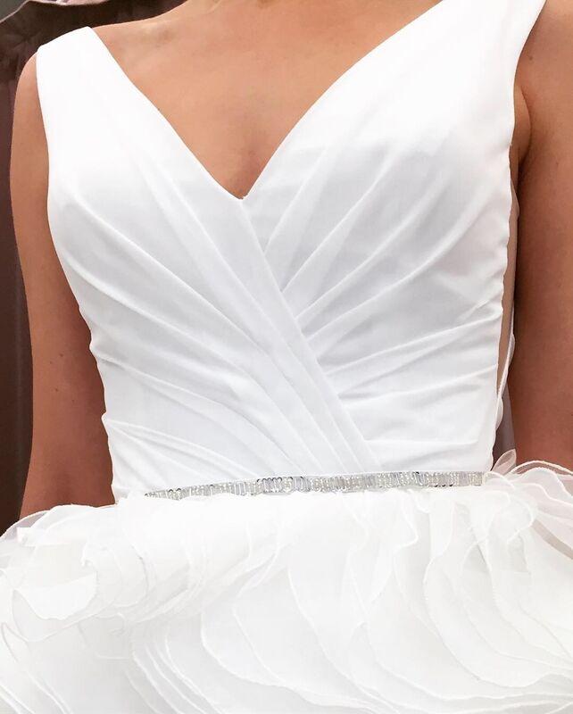 Свадебное платье напрокат Vanilla room Платье свадебное 926 - фото 3