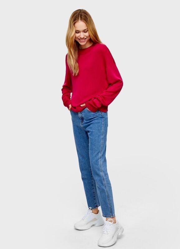 Кофта, блузка, футболка женская O'stin Объёмный джемпер LK7U31-X5 - фото 2
