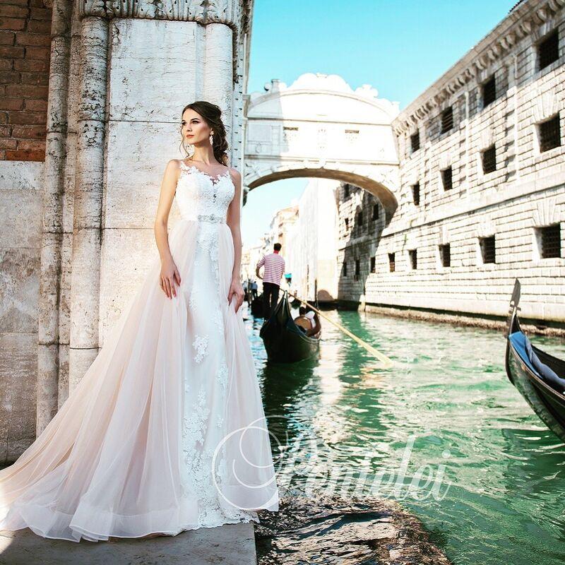 Свадебное платье напрокат Lavender Свадебное платье Valencia - фото 1