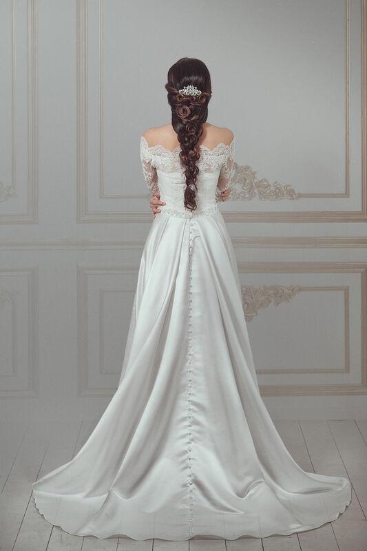 Свадебное платье напрокат Артемида Платье свадебное Donatella - фото 3