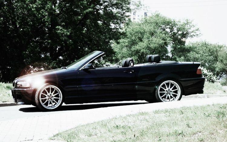 Прокат авто BMW E46 Coupe Cabrio, черного цвета - фото 1