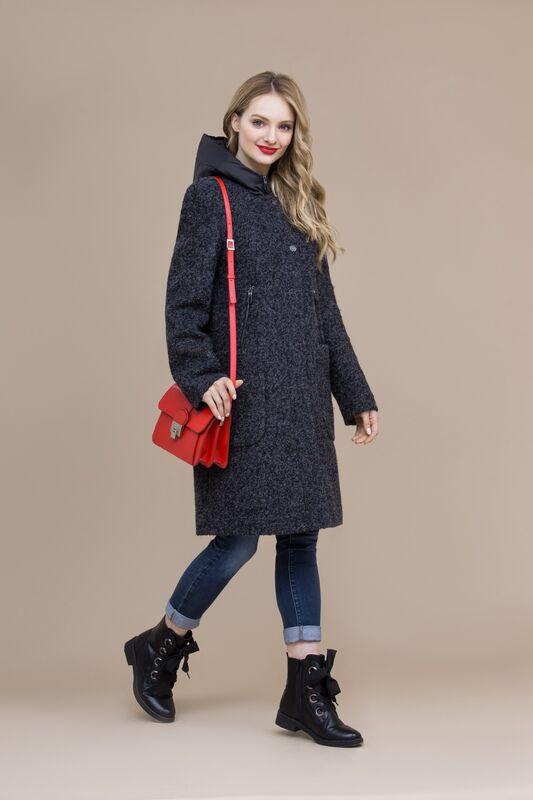 Верхняя одежда женская Elema Пальто женское демисезонное 1-7963-1 - фото 1
