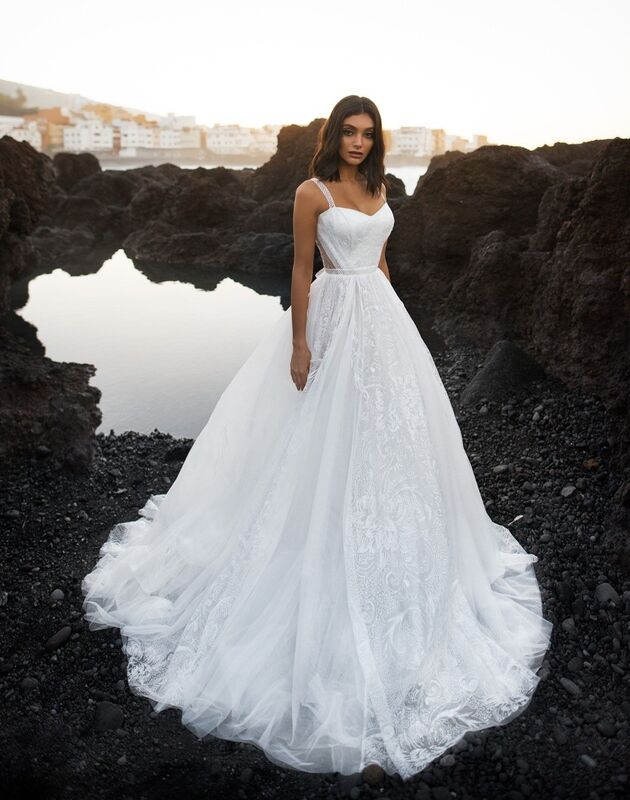 Свадебное платье напрокат Blammo-Biamo Свадебное платье Dream Ocean Somalia - фото 1