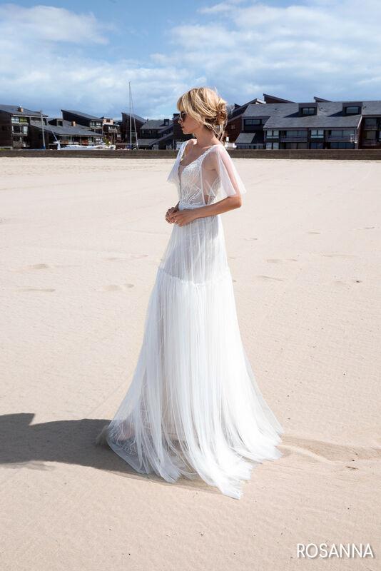 Свадебный салон Bonjour Galerie Свадебное платье ROSANNA из коллекции BON VOYAGE - фото 4