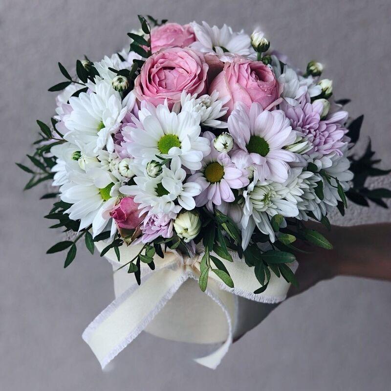 Магазин цветов Кошык кветак Коробочка классическая №15 - фото 1
