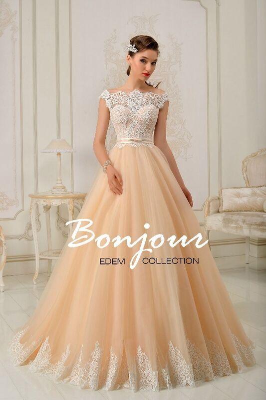 Свадебное платье напрокат Bonjour Платье свадебное «Bonjour» из коллекции EDEM L'ECLAT 2016 - фото 1