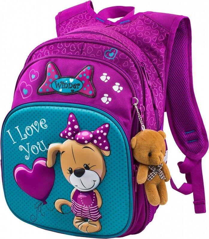 Магазин сумок Winner Рюкзак школьный 881 - фото 1