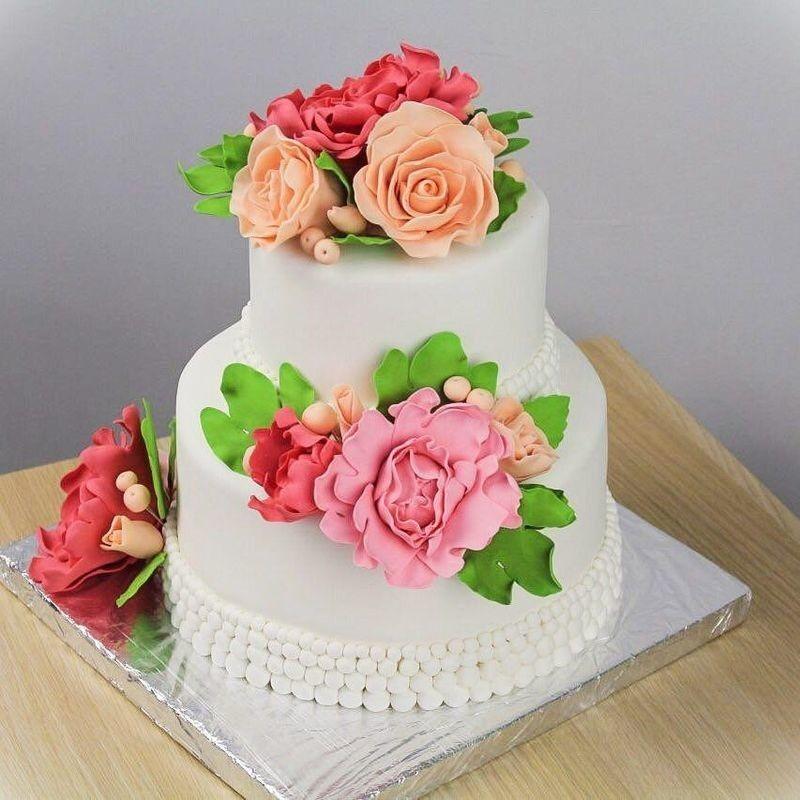 Торт Заказторта.бай Свадебный торт №1 - фото 1
