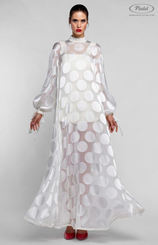 Костюм женский Pintel™ Комплект из накидки и приталенного мини-комбинезона LACOIYA - фото 1