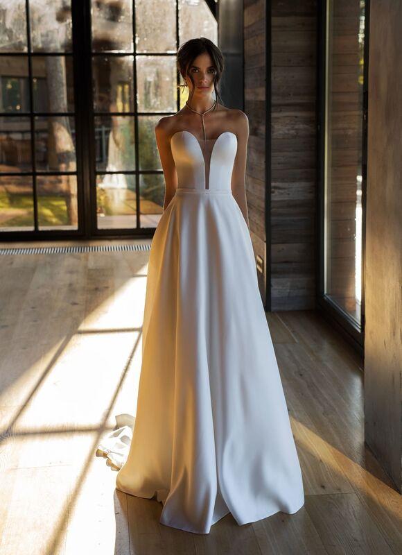 Свадебное платье напрокат Natalia Romanova Свадебное платье  Kleo - фото 3