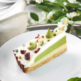 Торт ФМ «Престиж» Торт «Зеленый чай с белым шоколадом» - фото 1