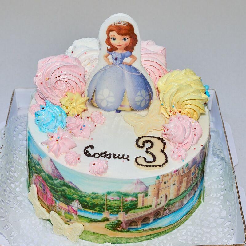 Торт Tortiki.by Праздничный торт №1 - фото 1