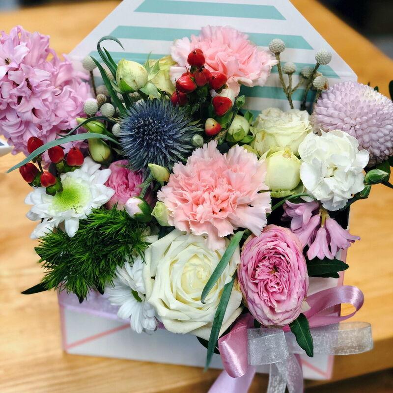 Магазин цветов Кошык кветак Конверт классический экзотический - фото 1