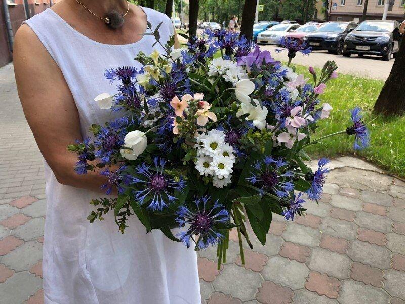 Магазин цветов Цветы на Киселева Букет «Летний луг» - фото 1