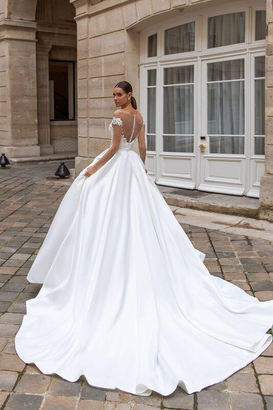 """Свадебное платье напрокат ALIZA свадебное платье """"Sylvy"""" - фото 2"""