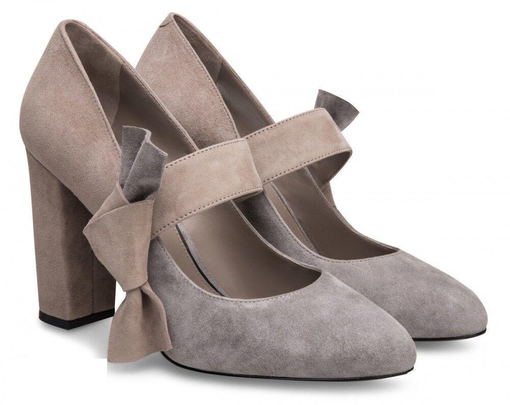 Обувь женская Alla Pugachova Туфли женские AP1732-01 vintag gray/taup - фото 1
