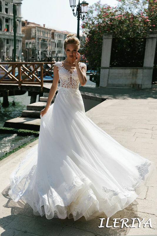 Свадебный салон Bonjour Galerie Свадебное платье Ileriya из коллекции La Douceur - фото 2
