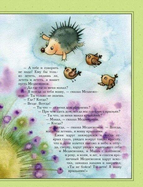 Книжный магазин Сергей Козлов Книга «Ёжикина радость» - фото 3