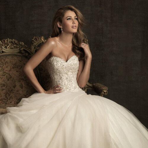 Свадебное платье напрокат Allure Bridals Платье свадебное 8901 - фото 4